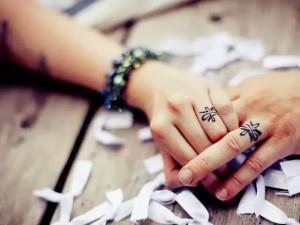 Обручальные-кольца татуировки