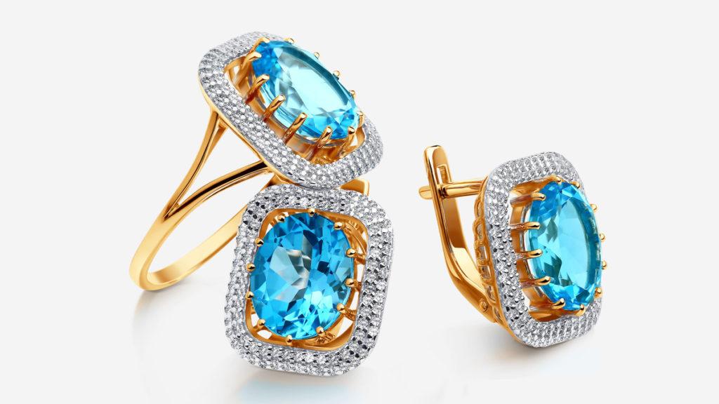 Синие камни