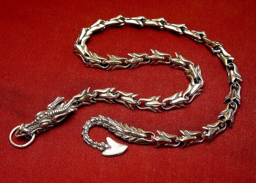 Плетение серебряных цепей