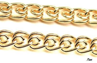 Тройное плетение цепочек
