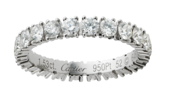 Аmulette de Сartier кольцо