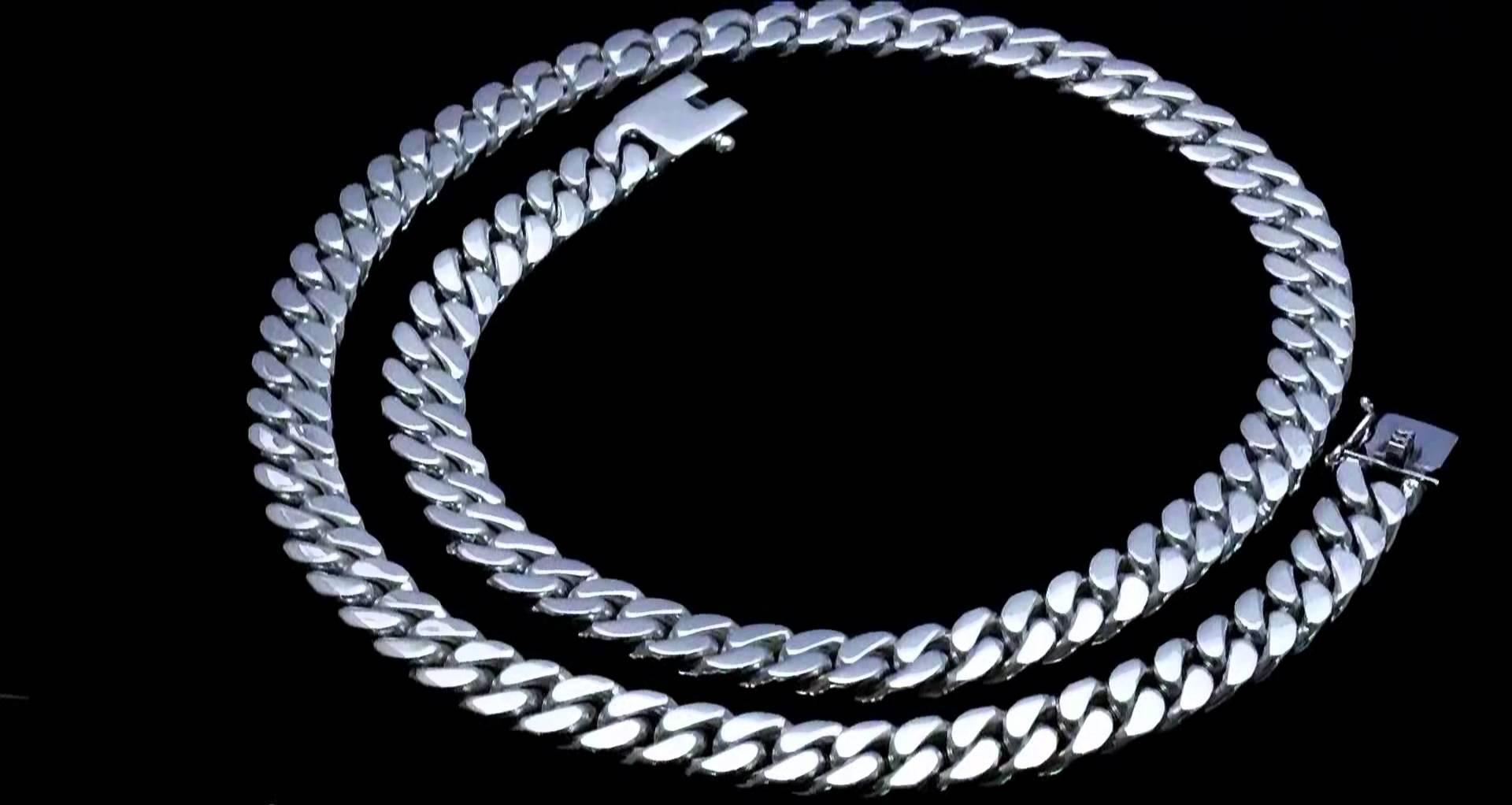 Мужские цепочки из серебра