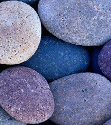 Фиолетовые камни