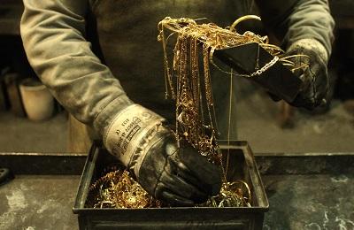 Плавка золота