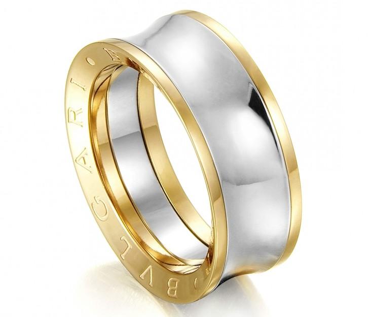 Золотое кольцо Булгари